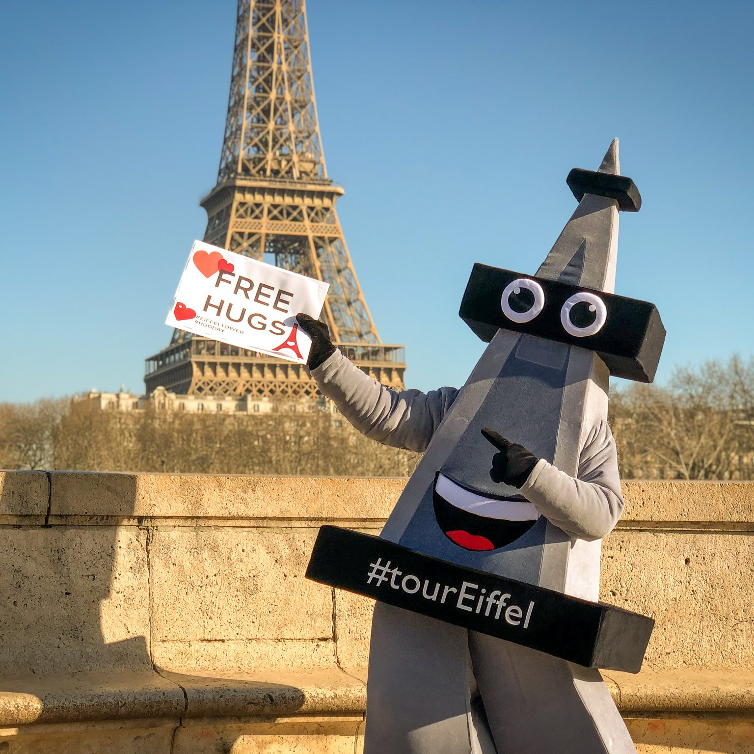 What Events Took Place At The Eiffel Tower In January