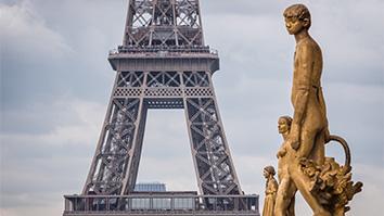 Tour Eiffel Vue Trocadero
