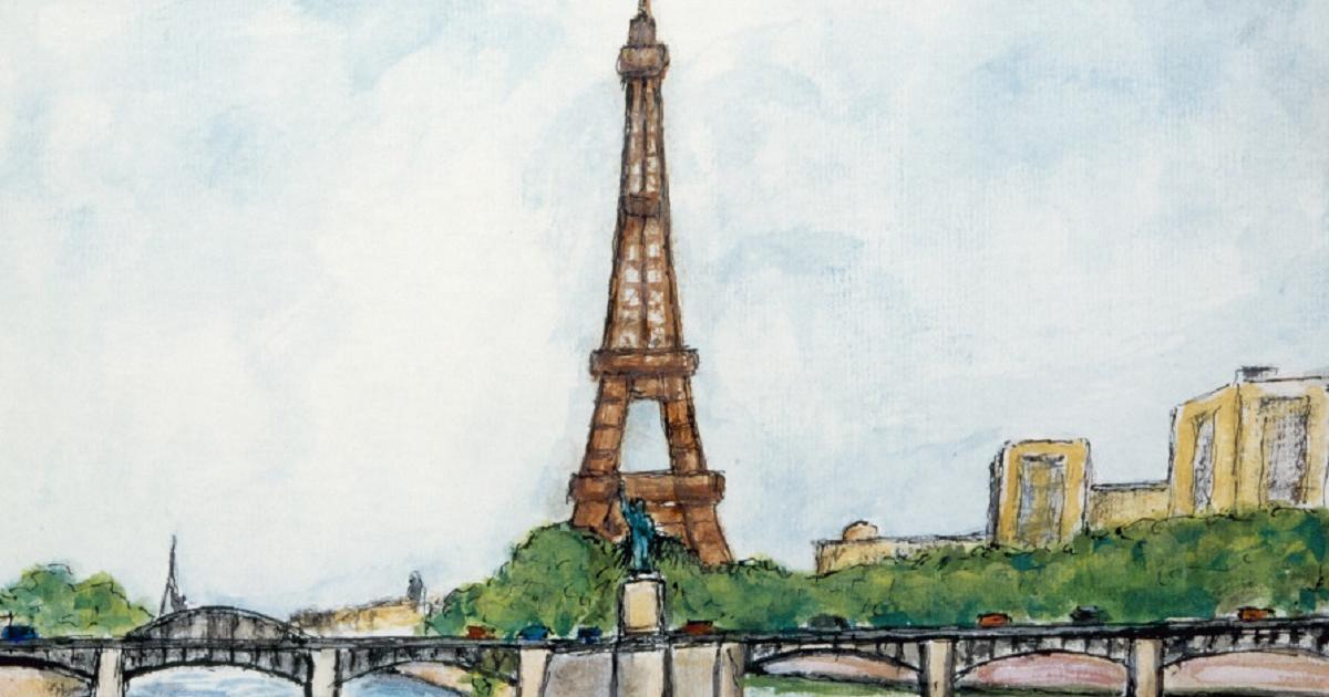 Cómo Dibujar La Torre Eiffel La Torre Eiffel