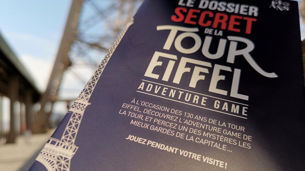 Adventure game de la tour Eiffel