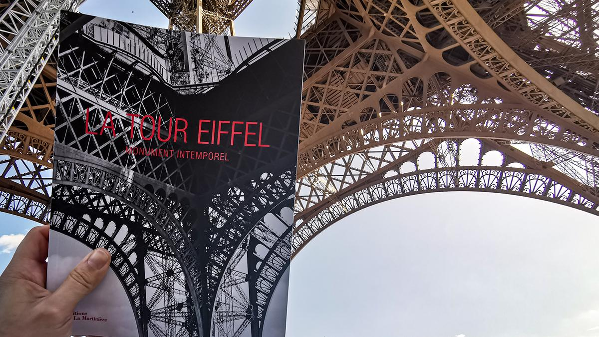 A book for the 130th anniversary of the Eiffel Tower