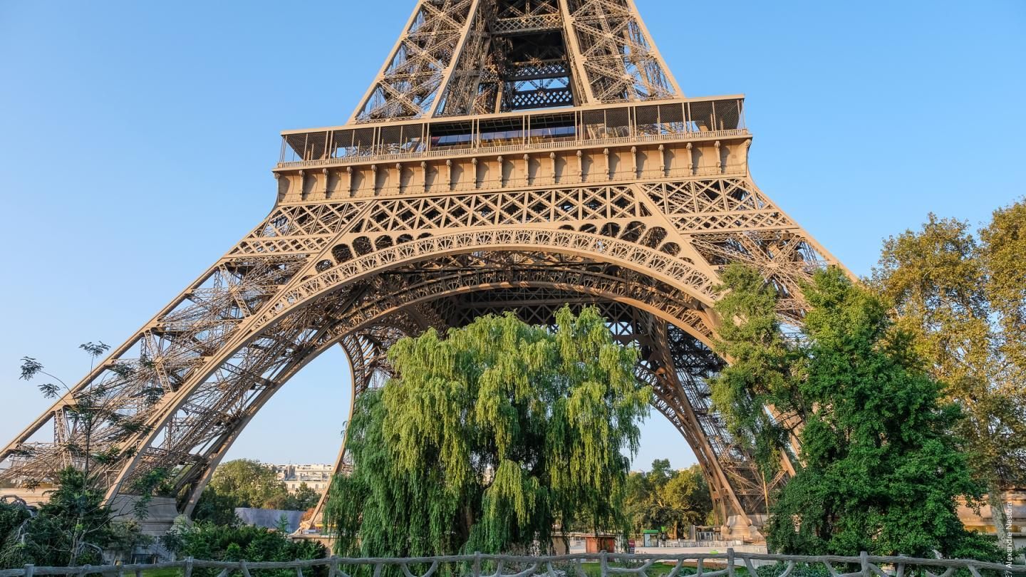 Photo of Eiffel Tower gardens