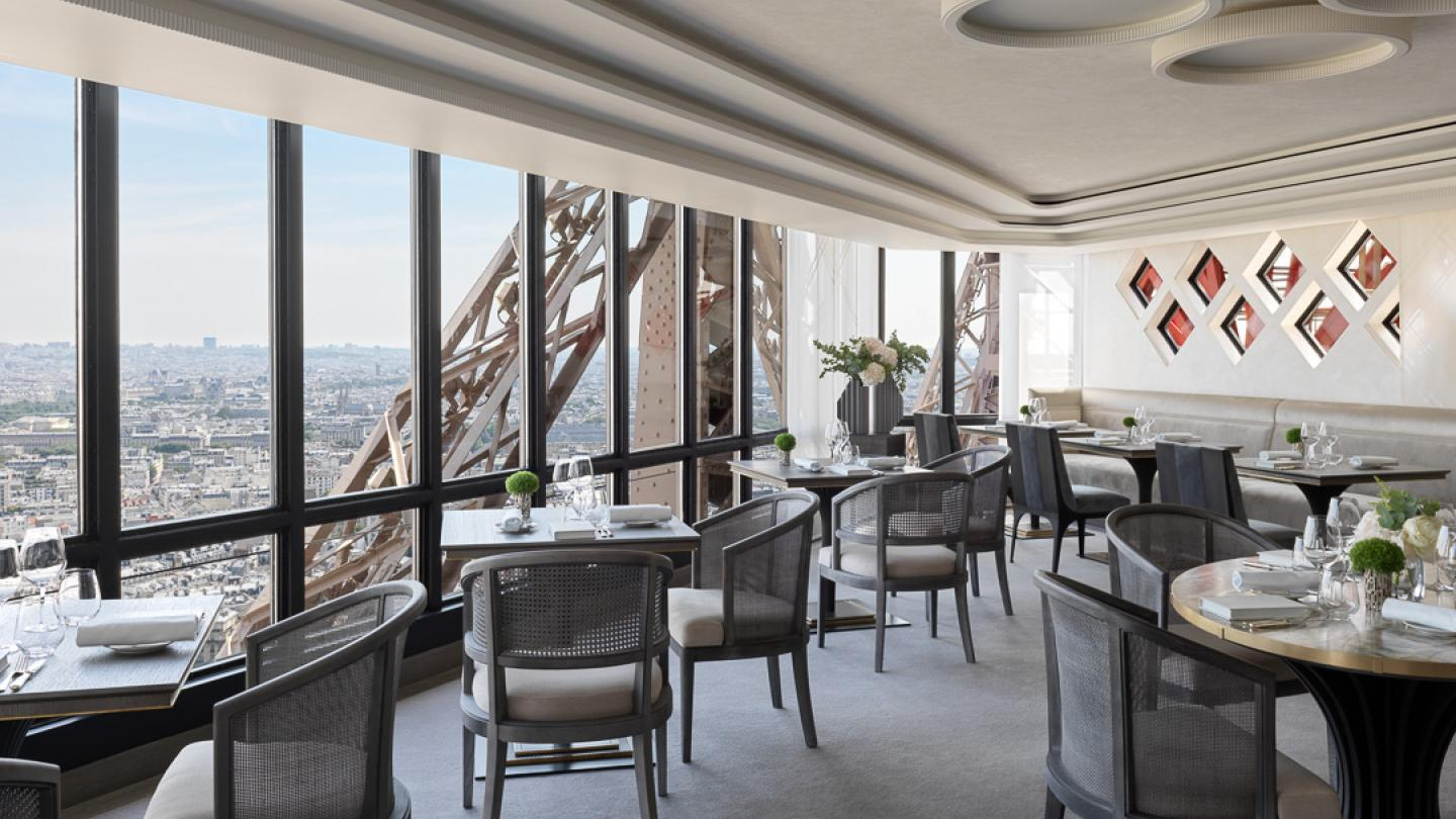 The New Face Of Le Jules Verne Restaurant Eiffel Tower