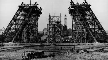 Building of the Eiffel Tower