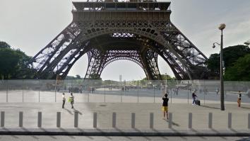 la tour Eiffel vue du quai Branly -images : Dietmar Feichtinger Architectes