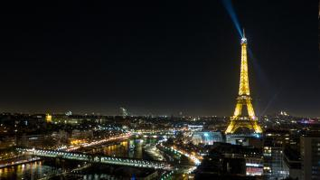 Photo tour Eiffel de nuit