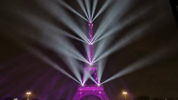 Tour Eiffel en rose