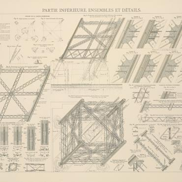 Gustave Eiffel's 9th blueprint
