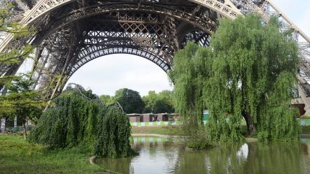 Photo Eiffel Tower gardens