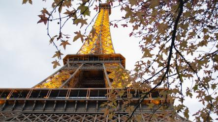 Photo tour Eiffel en hiver