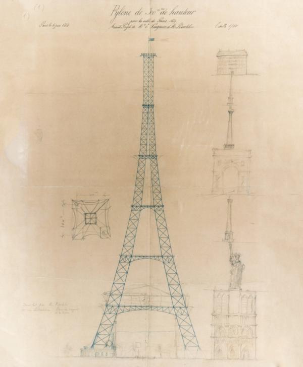 Construction & histoire de la tour Eiffel Site OFFICIEL