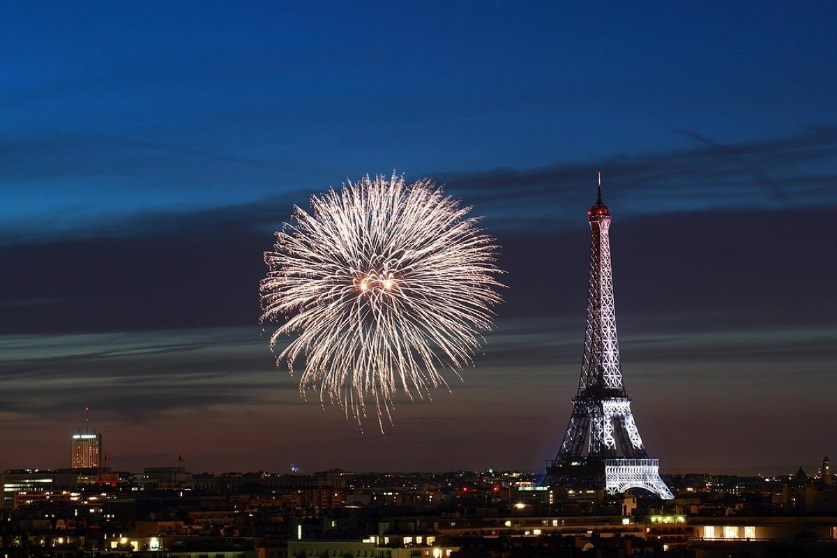 Feu d'artifice de la tour Eiffel 2017
