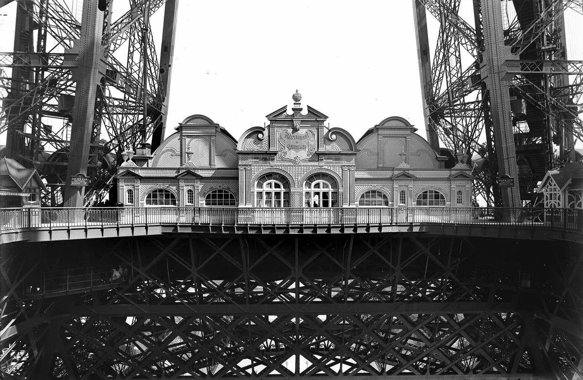 History Of The Restaurants Official Eiffel Tower Website