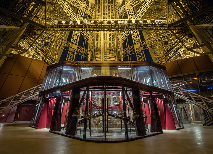 Disabled visitors official eiffel tower website - Salon gustave eiffel ...